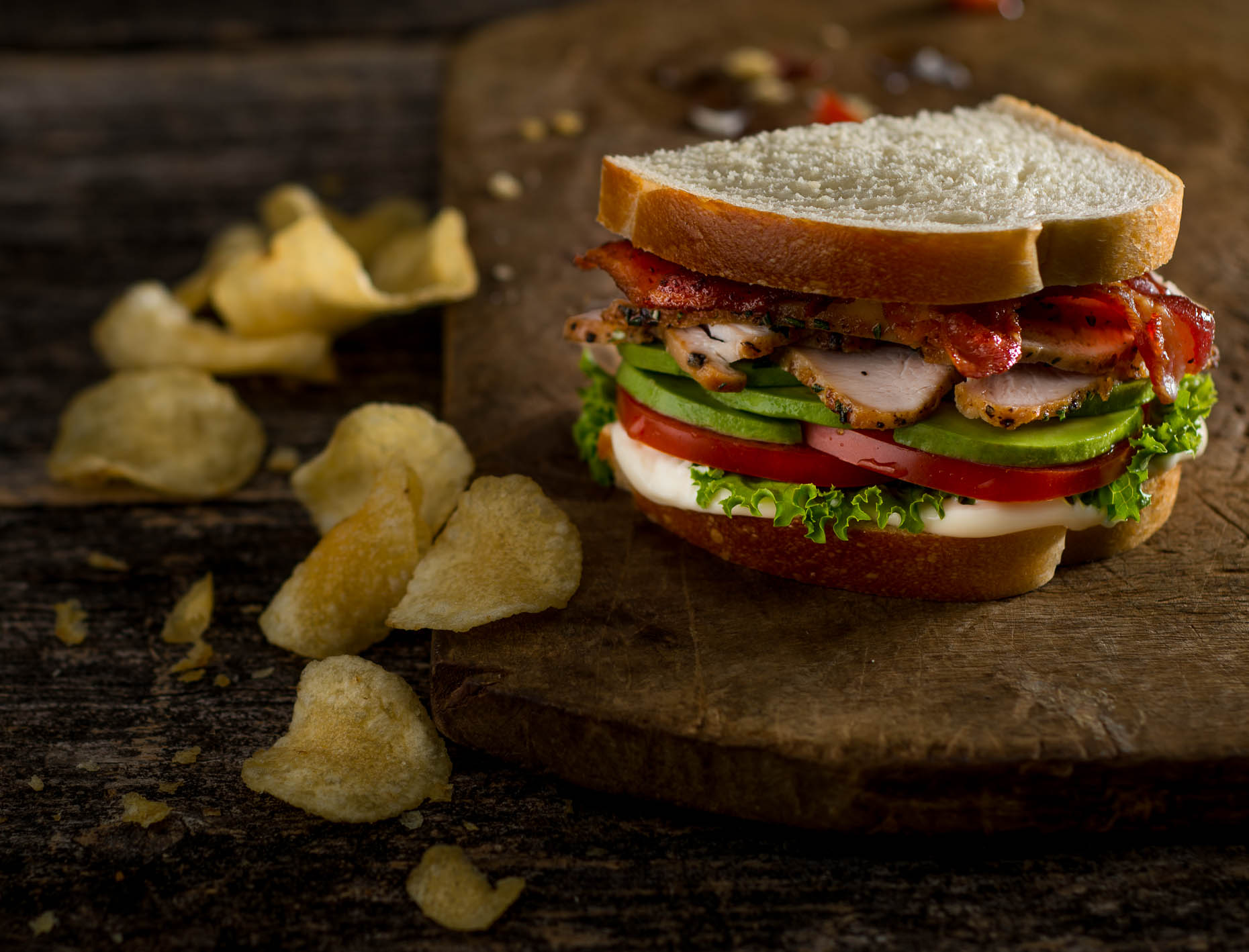 Panera - Turkey Avacado BLT Sandwich