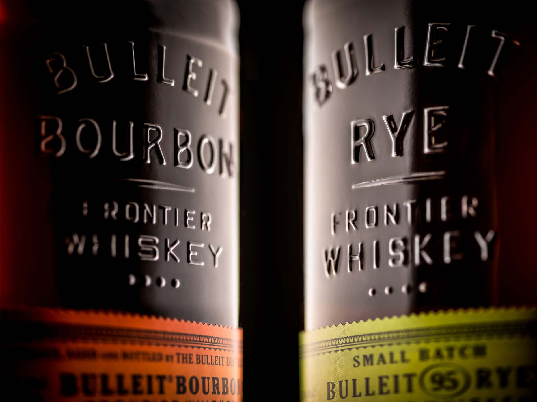 Bulleit Rye and Bulleit Bourbon