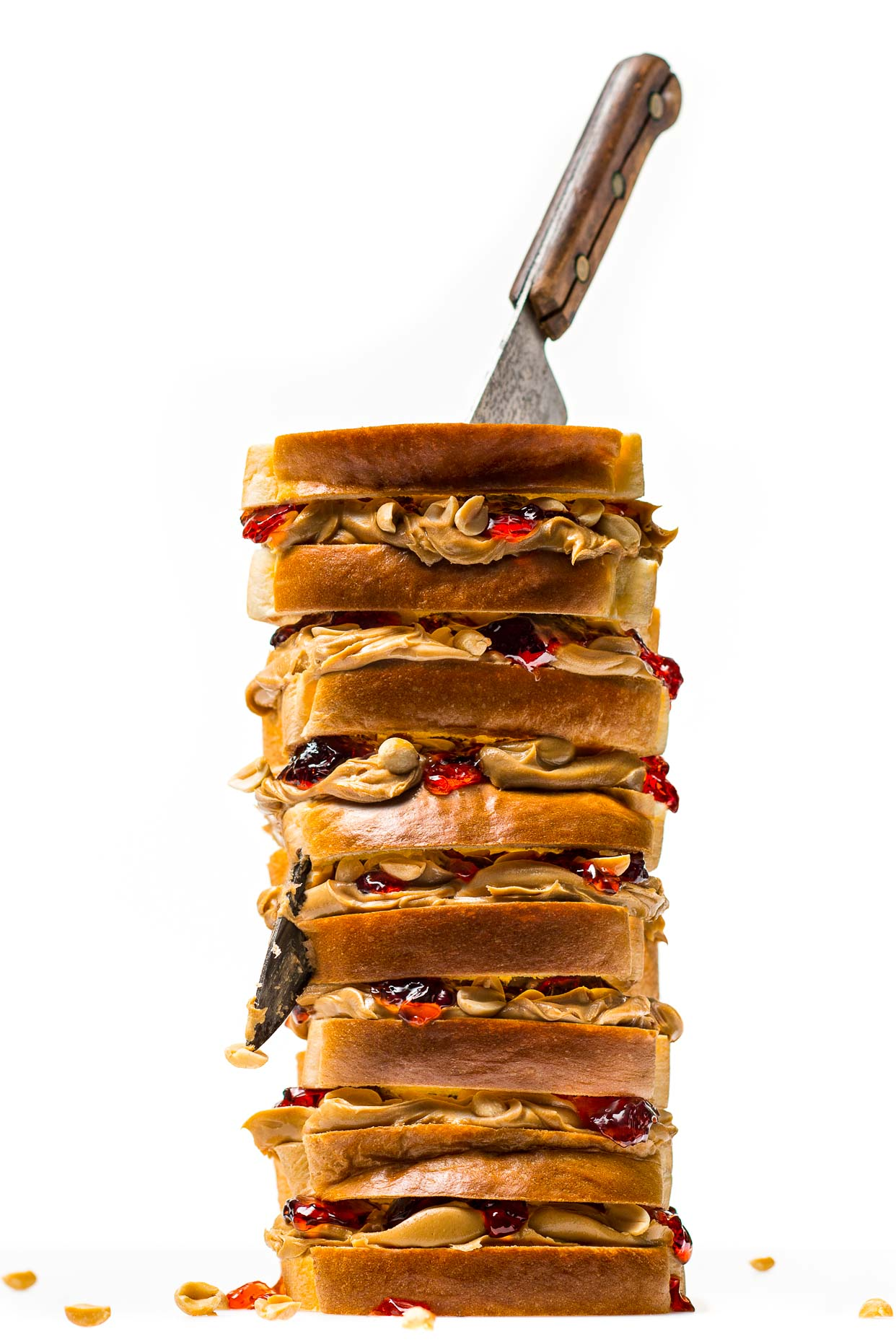 Peanut Butter & Jelly Tower
