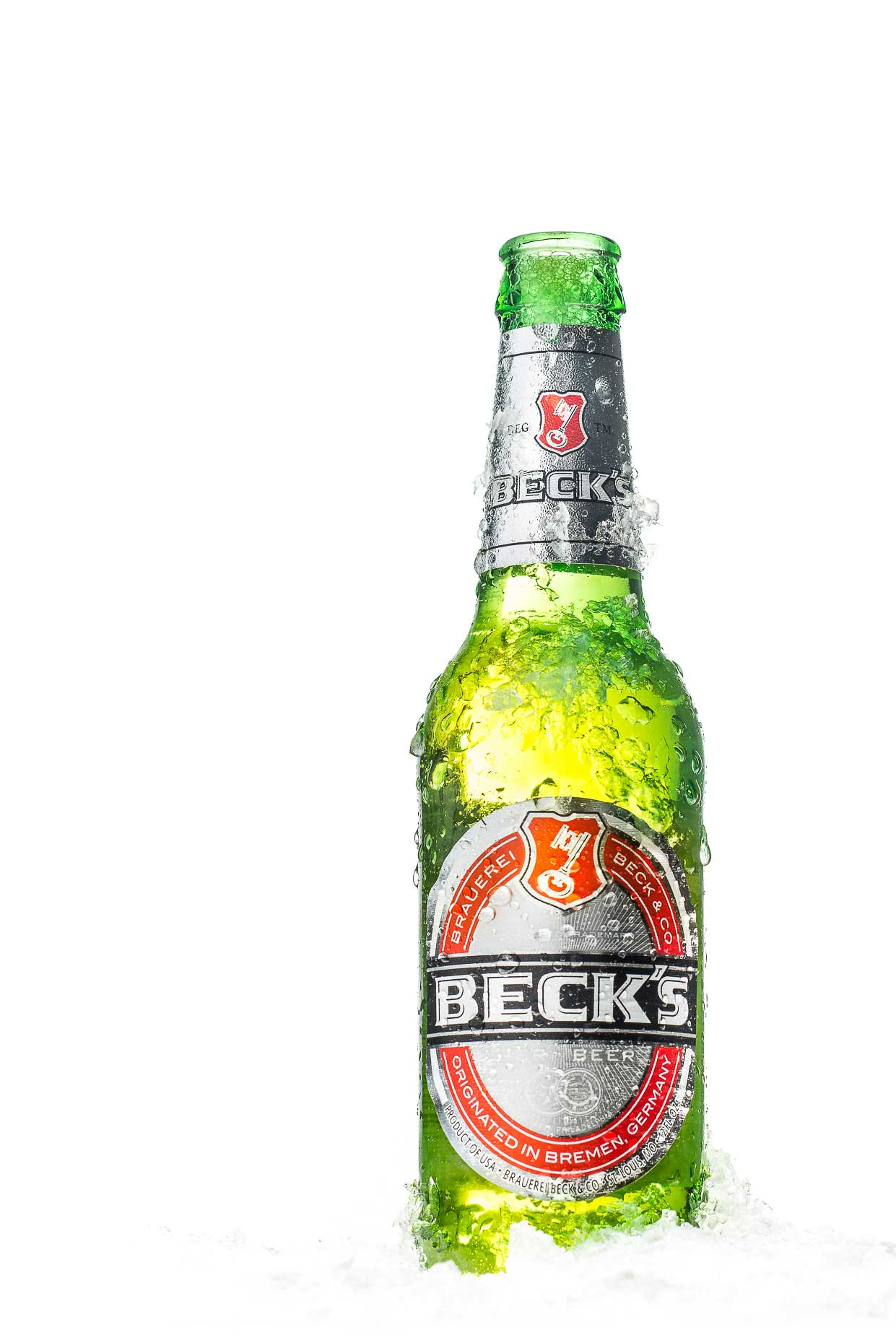 Ice Cold Bottle of Beck