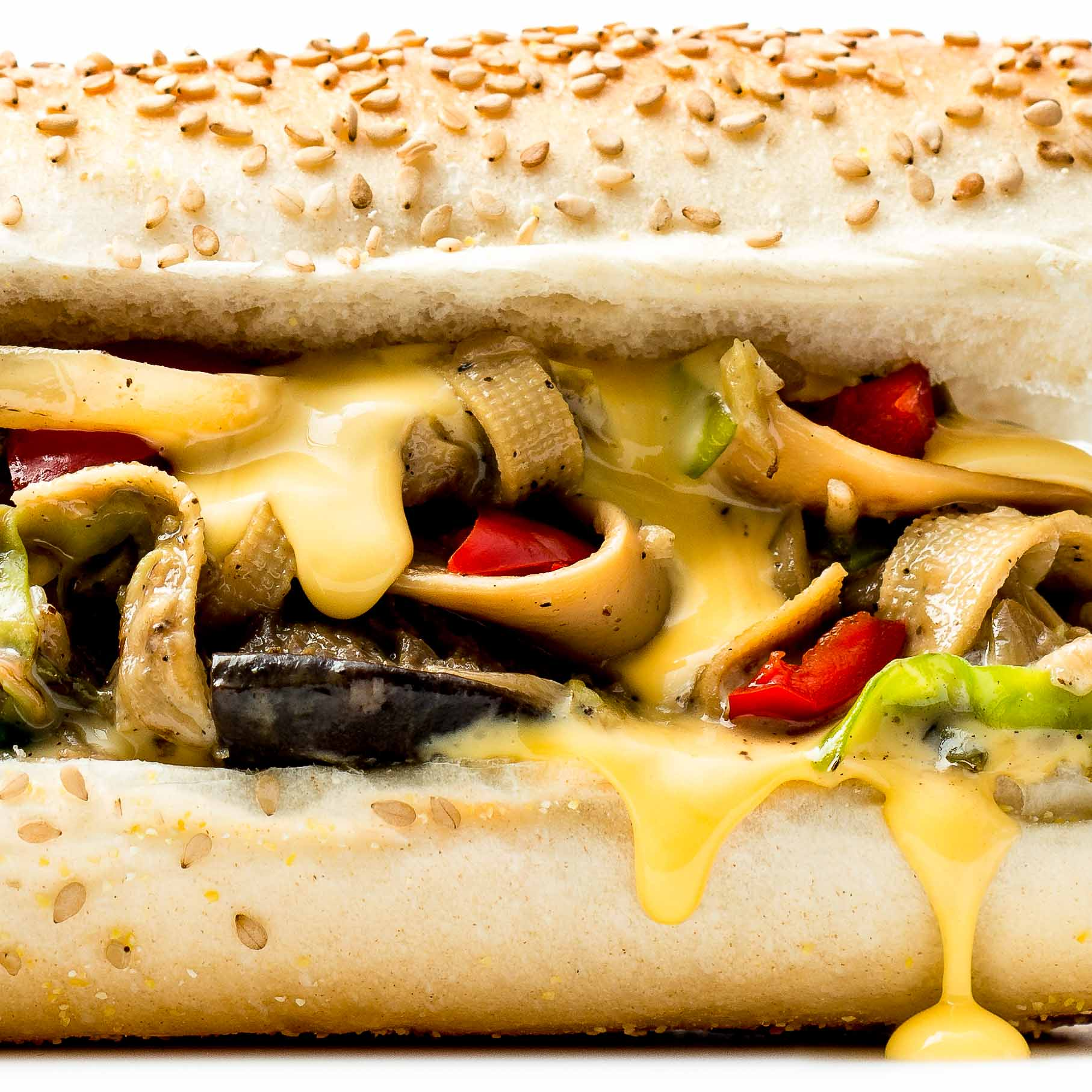 Vegetable Cheesesteak