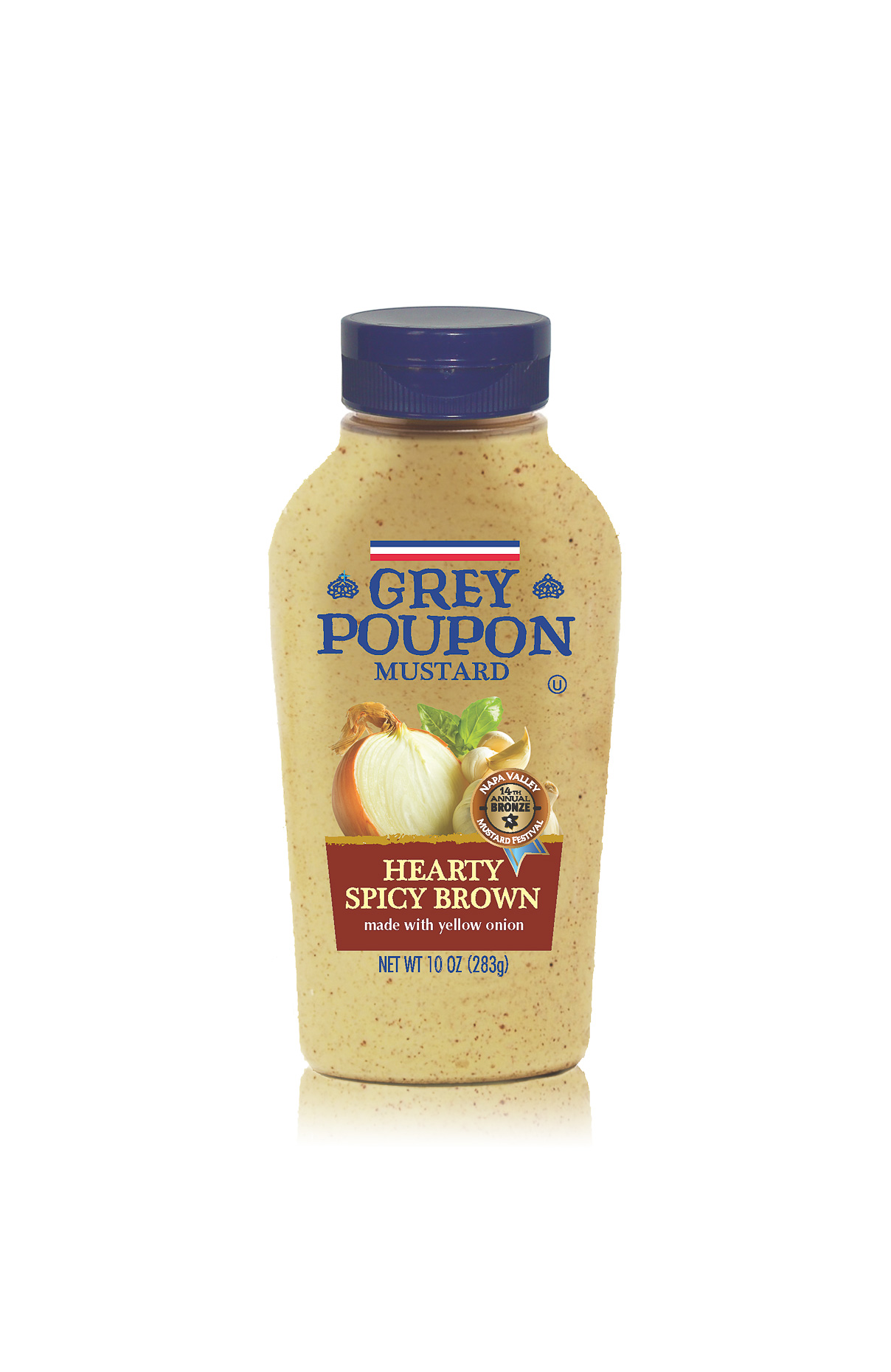Left: Kraft - Grey Poupon - Mustard - Packaging - Spring Design
