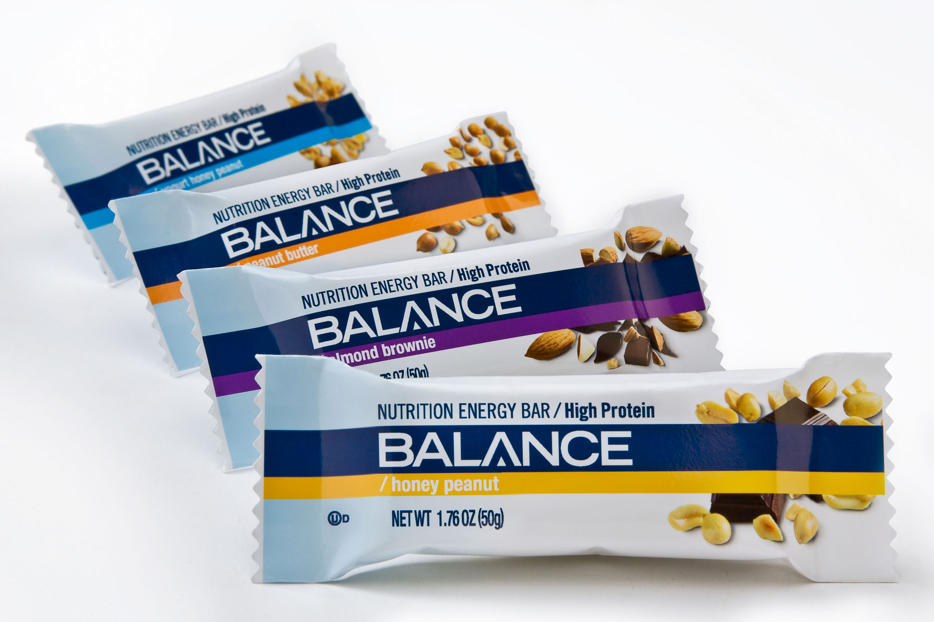 Kraft - Balance - Nutrition Energy Bars - Package - Spring Design Partners