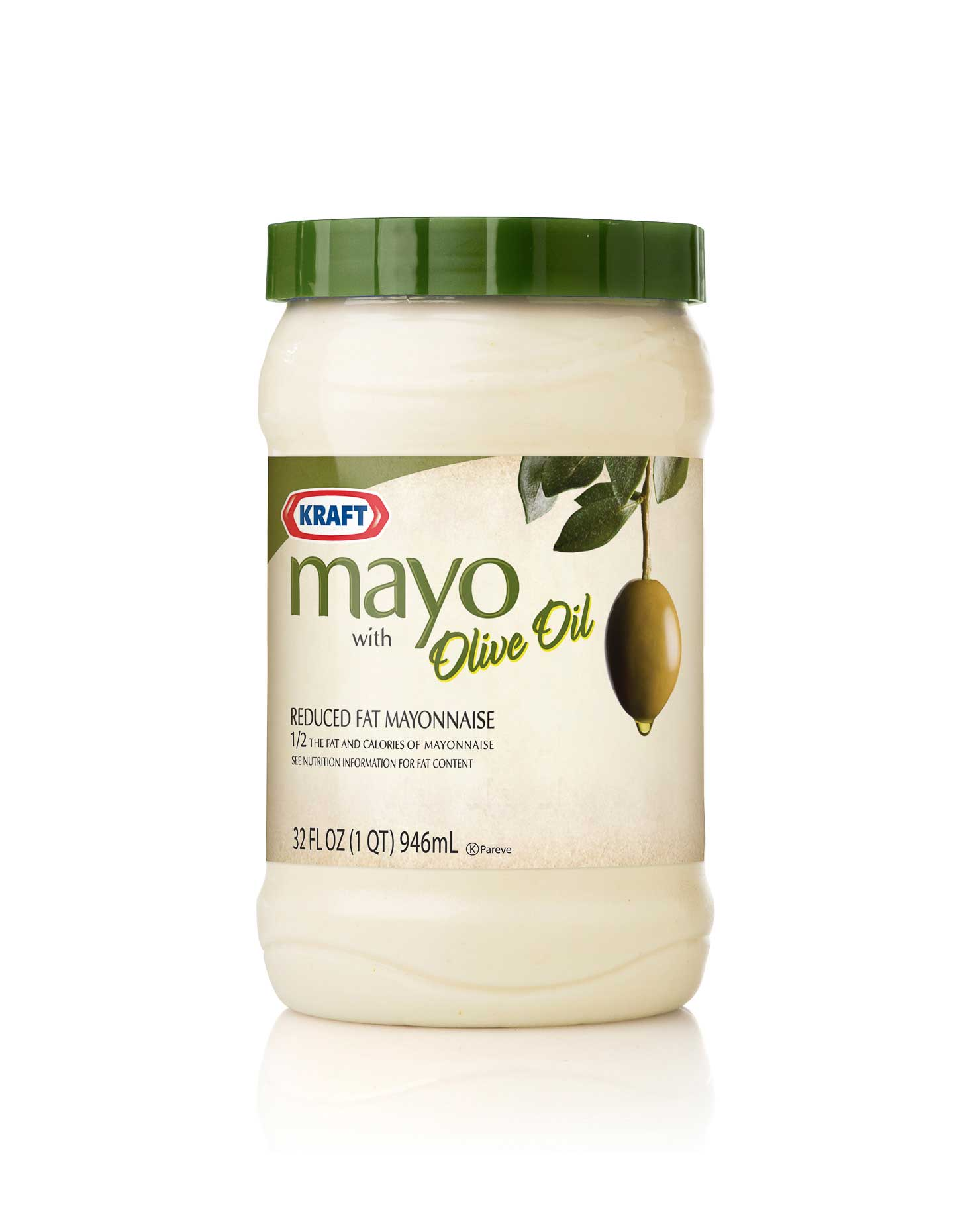 Right: Kraft - Mayonnaise made with Olive Oil - Packaging - Spring Design Partners