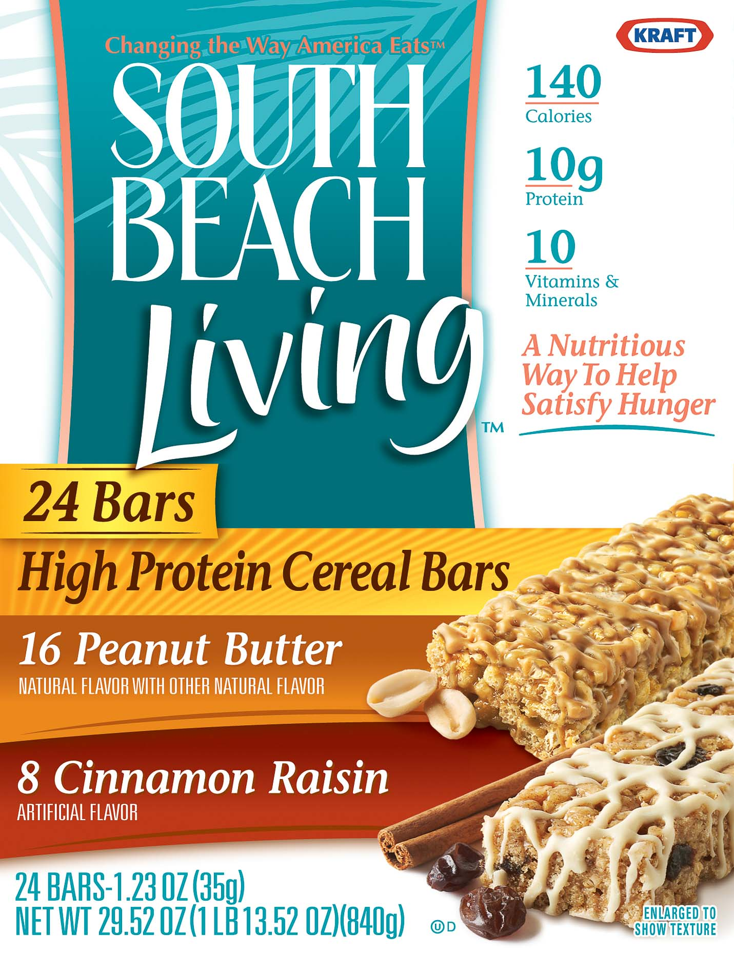 Kraft - South Beach Living - Bars - Packaging - Spring Design Partners